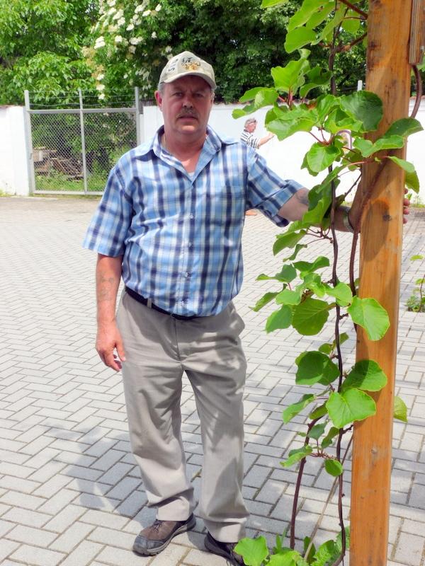 Gold, Silber und Broncemedaillengewinner Klaus Dieter Nickel